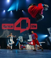 Dance4Life in Ahoy Rotterdam