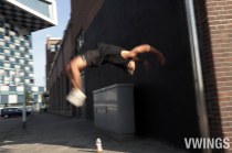 Freerunning training session Vincent J. Watson