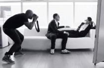 Behind the scenes Luxsunglasses photoshoot